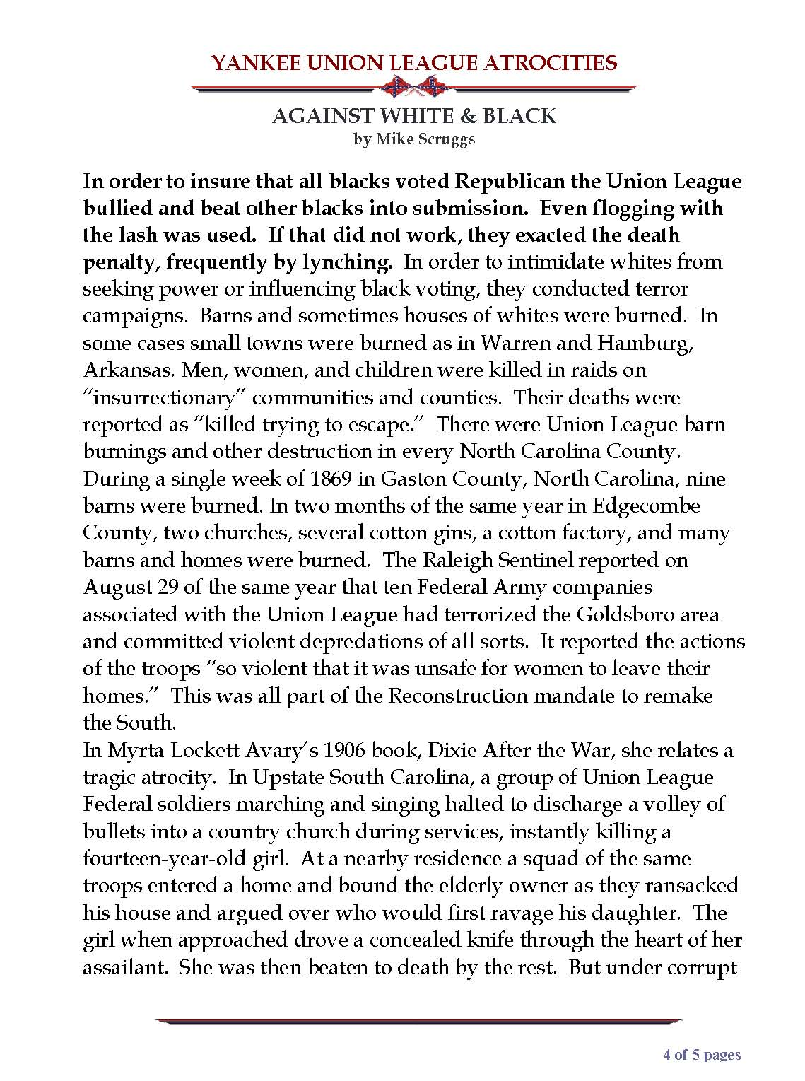 YANKEE UNION LEAGUE ATROCITIES AGAINST WHITE and BLACK_Page_4