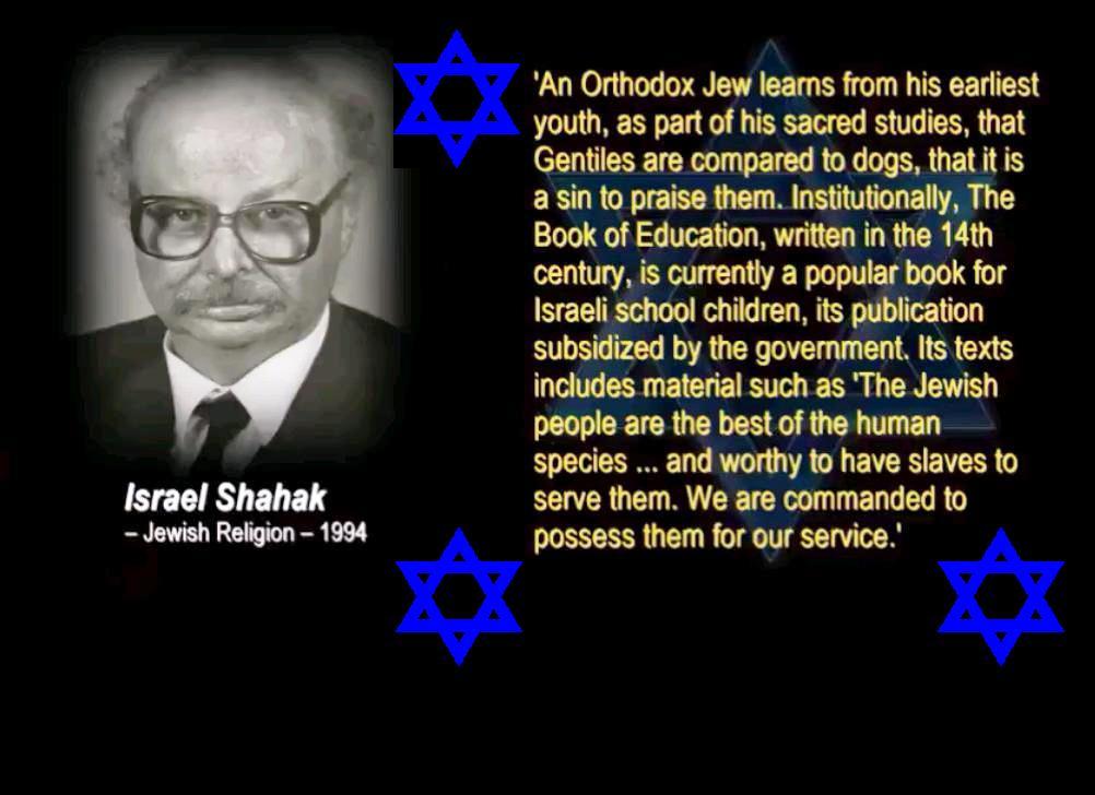 quote Israel Shahak 1994