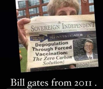 2011 Bill Gates , Forced Vaccine