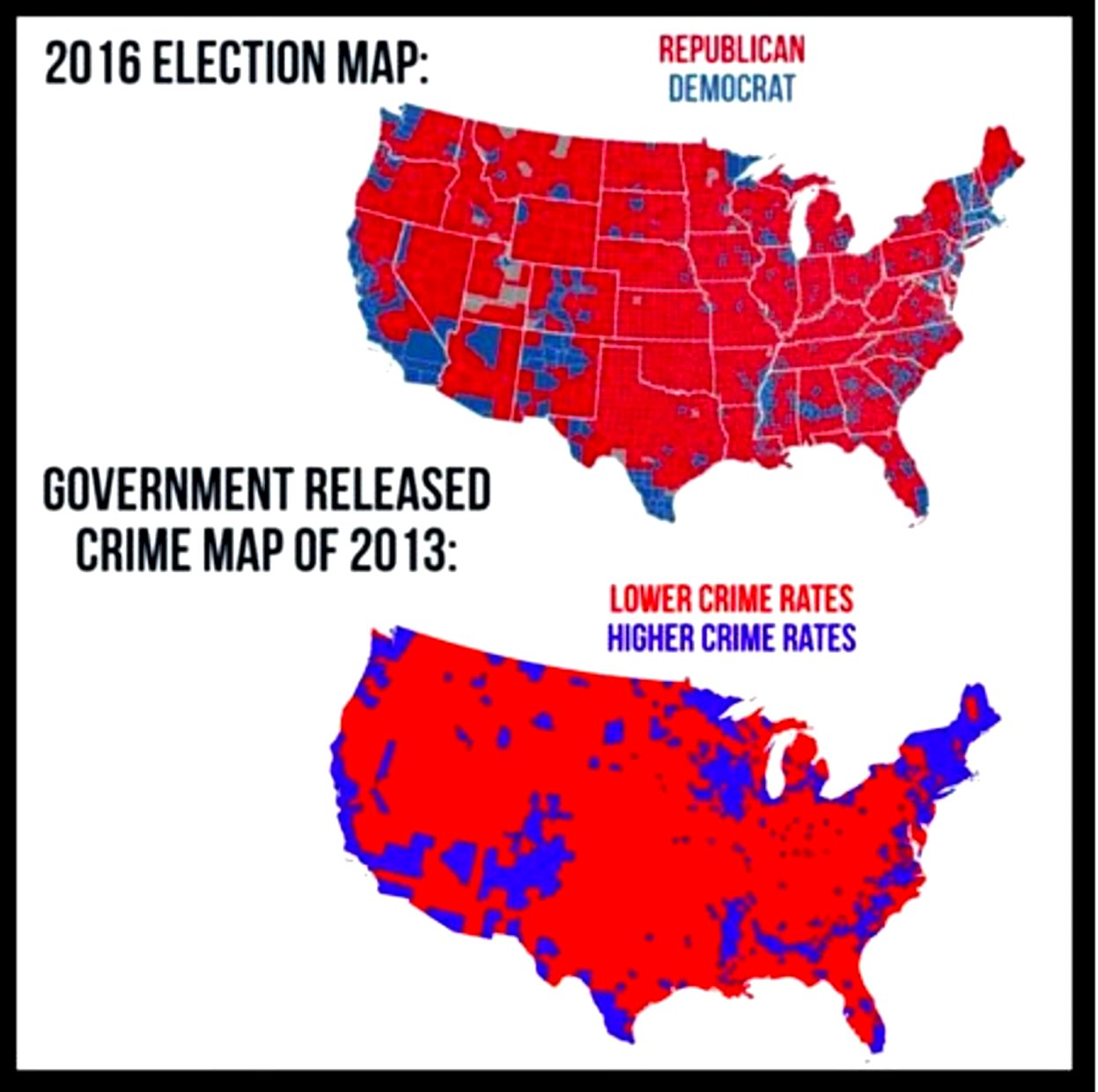 2016 Election and Crime Rate