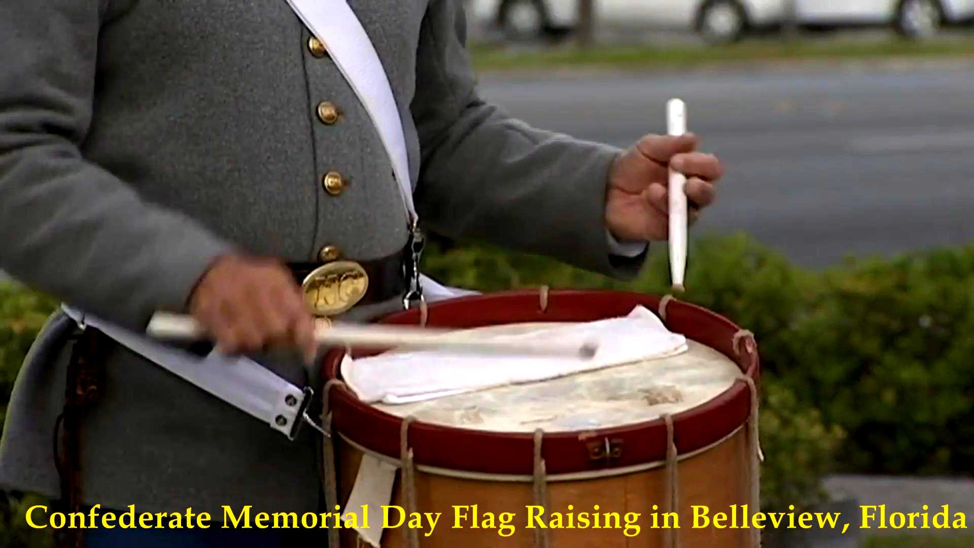 Confederate Flag Raising, Belleview, FL 2017__03