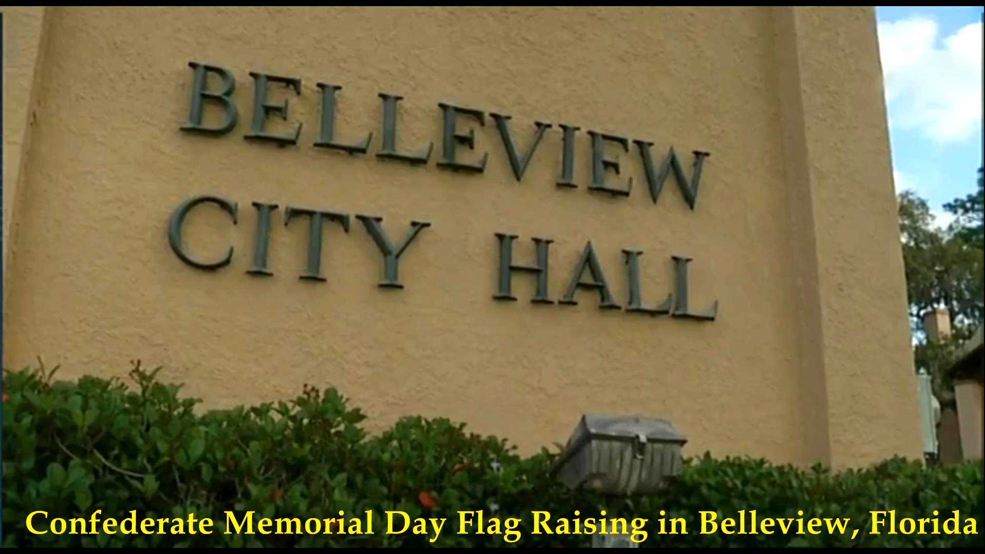 Confederate Flag Raising, Belleview, FL 2018__05
