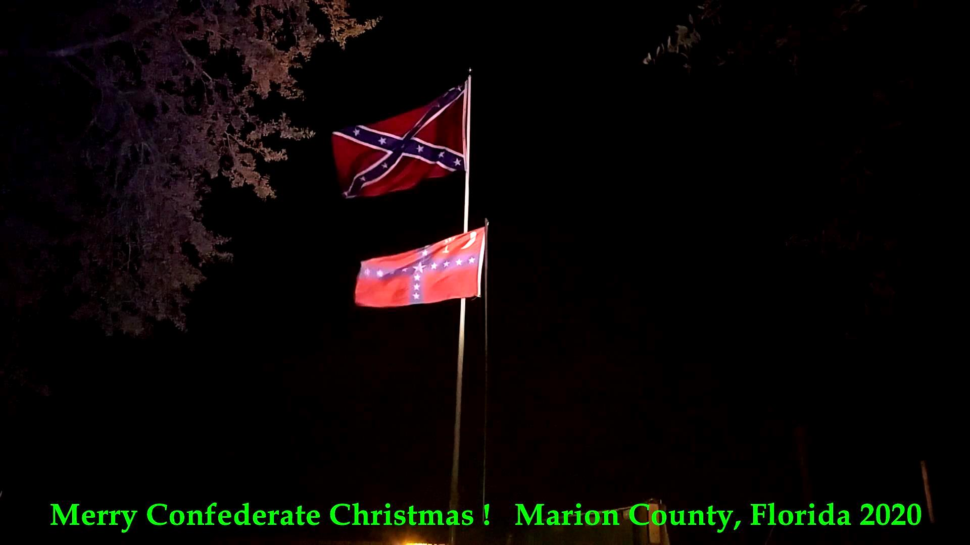 Merry Confederate Christmas ! Marion County, Florida, 2020_a