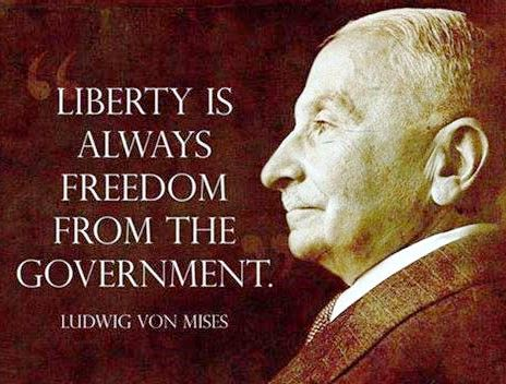 Liberty is Freedom from Government