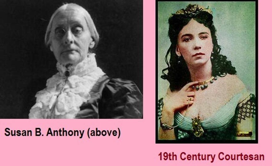 Susan B. Anthony vs Courtesan